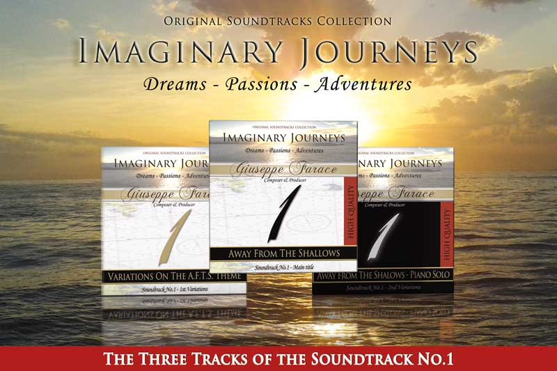 La musica da scaricare gratis dei tre brani che formano l'intera soundtrack No1 di IMAGINARY JOURNEYS